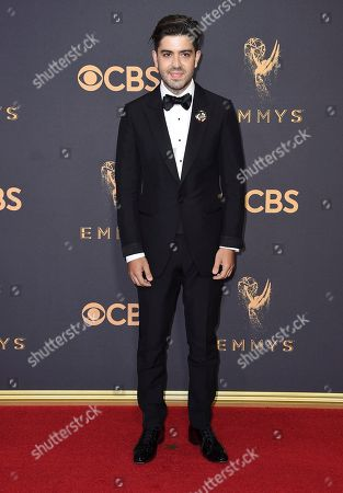 Stock Photo of Beejan Land arrives at the 69th Primetime Emmy Awards, at the Microsoft Theater in Los Angeles
