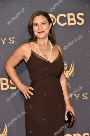 Stock Photo of Monica Beletsky arrives at the 69th Primetime Emmy Awards, at the Microsoft Theater in Los Angeles