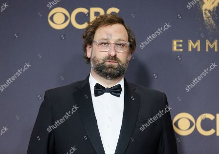 Eric Wareheim arrives at the 69th Primetime Emmy Awards, at the Microsoft Theater in Los Angeles
