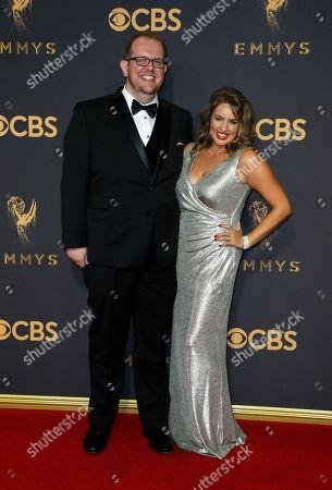 Editorial photo of 2017 Primetime Emmy Awards - Arrivals, Los Angeles, USA - 17 Sep 2017