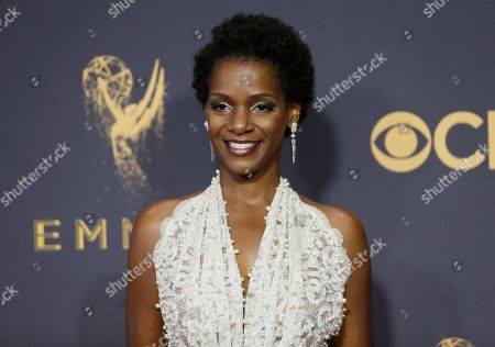 Vanessa Bell Calloway arrives at the 69th Primetime Emmy Awards, at the Microsoft Theater in Los Angeles