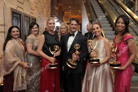 Editorial photo of 69th Primetime Emmy Awards - Entry Lounge and Winners Walk, Los Angeles, USA - 17 Sep 2017