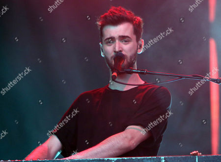 Kyle Simmons with Bastille performs during Music Midtown 2017 at Piedmont Park, in Atlanta