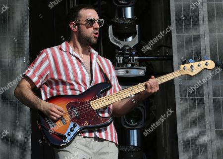 Kevin Baird with Two Door Cinema Club performs during Music Midtown 2017 at Piedmont Park, in Atlanta
