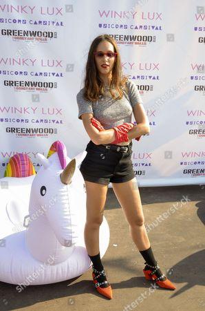 Editorial photo of Unicorn Carnival Festival, New York, USA - 17 Sep 2017