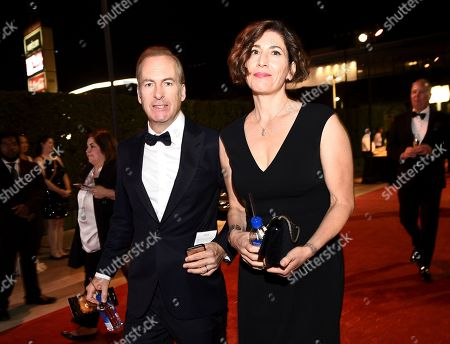 Bob Odenkirk, Naomi Odenkirk. Bob Odenkirk, left, and Naomi Odenkirk attend the Governors Ball for the 69th Primetime Emmy Awards at the Los Angeles Convention Center, in Los Angeles
