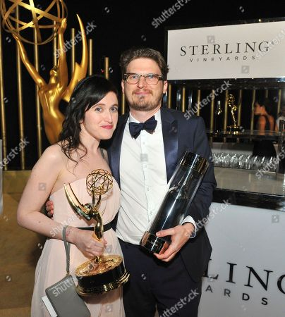 Stock Image of Rachel Axler at 2017 Emmy Winners Circle hosted by Sterling Vineyards at the 69th Primetime Emmy Awards Governors Ball on at the LA Convention Center in Los Angeles