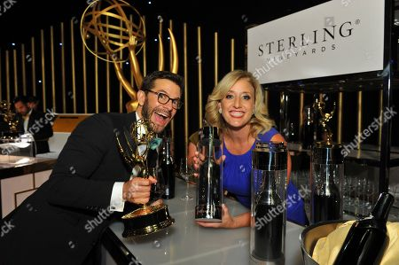 Editorial photo of Sterling Vineyards at the 69th Primetime Emmy Awards Governors Ball, Los Angeles, USA - 17 Sep 2017