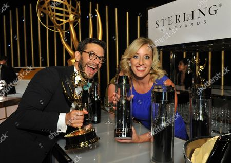 Editorial image of Sterling Vineyards at the 69th Primetime Emmy Awards Governors Ball, Los Angeles, USA - 17 Sep 2017