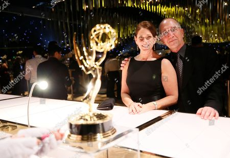 Audrey Morrissey attends the Governors Ball for the 69th Primetime Emmy Awards at the Los Angeles Convention Center, in Los Angeles