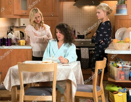 Ep 9259 Wednesday 27th September 2017 - 1st Ep Mel, as played by Sonia Ibrahim, explains to Bethany Platt, as played by Lucy Fallon, how she was Nathan's first victim and that he used her as a punchbag. Sarah Platt, as played by Tina O'Brien, arrives home and is shocked to see Mel. Bethany tells Sarah she needs to get Mel on their side as her word won't be enough to see Nathan and co punished. Will Sarah agree?