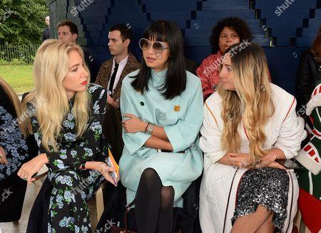 Editorial photo of Roksanda show, Front Row, Spring Summer 2018, London Fashion Week, UK - 18 Sep 2017