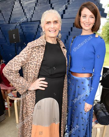 Daphne Selfe and Lauren Cuthbertson