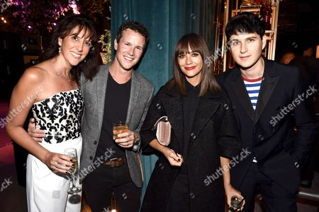 Rina Mimoun, Scott Weinger, Rashida Jones and Ezra Koenig