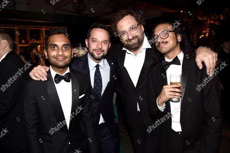 Aziz Ansari, Nick Kroll, Eric Wareheim and Aniz Ansari