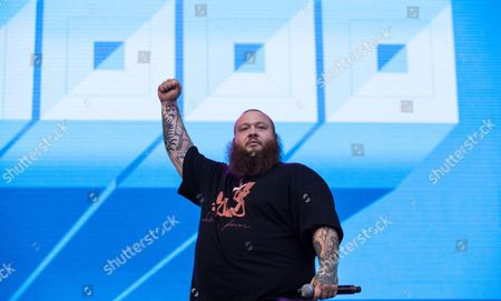 Stock Photo of Action Bronson