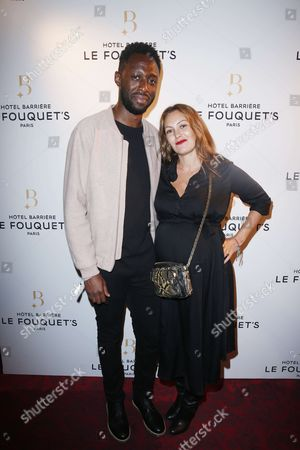Editorial photo of Hotel Fouquet's Barriere party, Paris, France - 14 Sep 2017