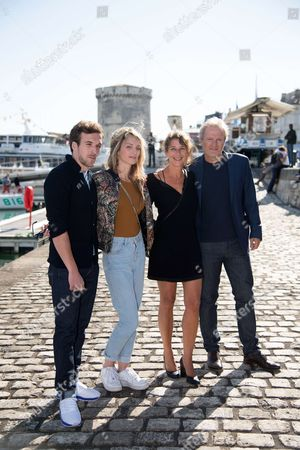 Editorial picture of 'Les chamois' photocall, La Rochelle TV Fiction Festival, France - 15 Sep 2017