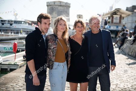 Stock Picture of Edouard Court, Claire Borotra, Isabelle Gelinas and Philippe Lefebvre