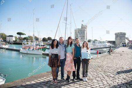 Dorylia Calmel, Antoine Stip, Julie Boulanger, Amboise Michel and Elodie Varlet