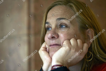 Editorial picture of Tracy Chevalier during interview in Barcelona, Spain - 18 Sep 2017