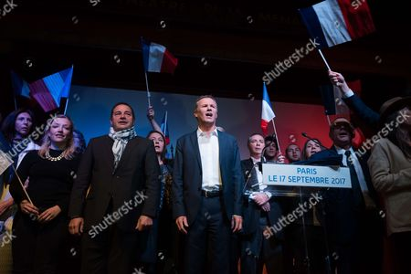 Editorial photo of Debout La France party meeting, Paris, France - 17 Sep 2017