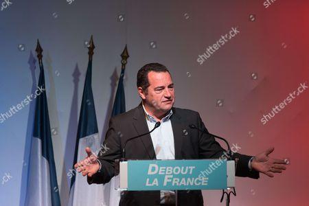 Editorial picture of Debout La France party meeting, Paris, France - 17 Sep 2017