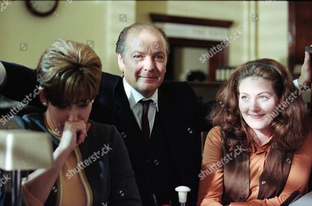 Stock Image of Lorraine Sass (as Brenda Dugdale), Richard Walsh (as Gordon Stringer) and Emma Cleasby (as Linda)