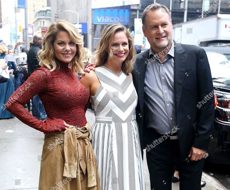 Candace Cameron-Bure, Andrea Barber, Dave Coulier