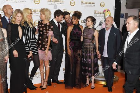 Mark Strong, Hanna Alstrom, Claudia Schiffer, Poppy Delevingne, Edward Holcroft, Halle Berry, Sophie Cookson, Keith allen