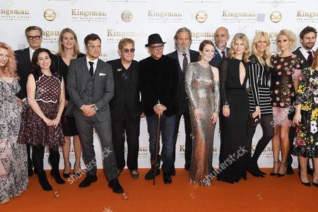 Keith Allen, Channing Tatum, Colin Firth, Taron Egerton, Elton John, Jeff Bridges, Julianne Moore, Mark Strong, Hanna Alstrom, Claudia Schiffer, Poppy Delevingne, Edward Holcroft