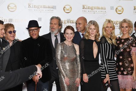 Editorial picture of 'Kingsman: The Golden Circle' world film premiere, London, UK - 18 Sep 2017