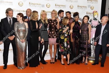 Editorial photo of 'Kingsman: The Golden Circle' world film premiere, London, UK - 18 Sep 2017