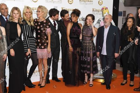 Stock Picture of Mark Strong, Hanna Alstrom, Claudia Schiffer, Poppy Delevingne, Edward Holcroft, Pedro Pascal, Halle Berry and Sophie Cookson