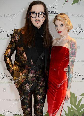 Stock Picture of Joshua Kane and Francesca Merricks