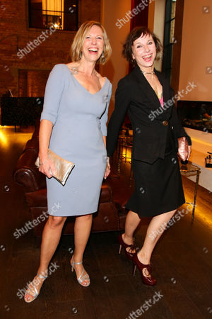 Stock Photo of Petra Zieser and Meret Becker