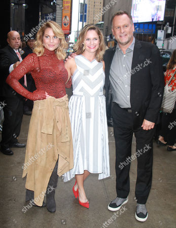 Candace Cameron Bure, Andrea Barber, Dave Coulier