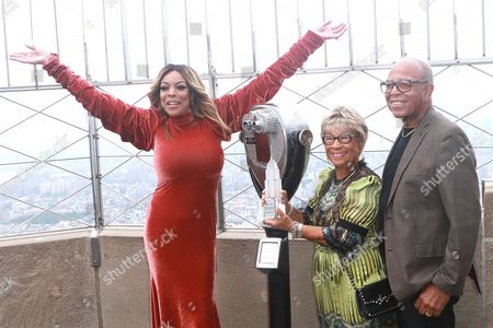Wendy Williams, Shirley Williams and Thomas Williams Sr.