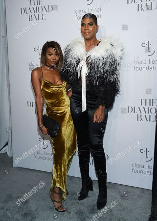 Elisa Johnson, Earvin Johnson Jr. Elisa Johnson and her brother Earvin Johnson Jr. attend the 3rd Annual Diamond Ball at Cipriani Wall Street, in New York