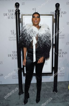 Earvin Johnson Jr. attends the 3rd Annual Diamond Ball at Cipriani Wall Street, in New York