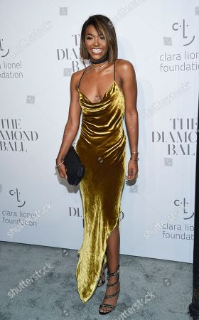 Elisa Johnson attends the 3rd Annual Diamond Ball at Cipriani Wall Street, in New York