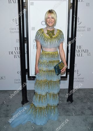 Julie Macklowe attends the 3rd Annual Diamond Ball at Cipriani Wall Street, in New York