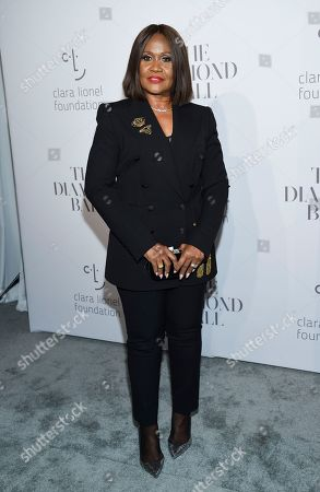 Stock Image of Monica Braithwaite attends the 3rd Annual Diamond Ball at Cipriani Wall Street, in New York