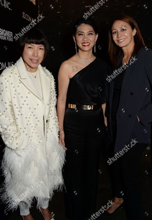 Angelica Cheung, Xia Ding and Caroline Rush