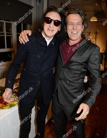 Stock Picture of John Cooper Clarke and Stephen Webster