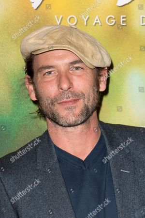 Editorial picture of 'Gauguin - Voyage de Tahiti' film premiere, Arrivals, Paris, France - 18 Sep 2017