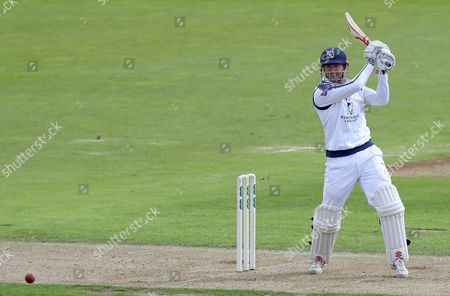 George Bailey of Hampshire hits outduring Hampshire CCC vs Essex CCC, Specsavers County Championship Division 1 Cricket at the Ageas Bowl on 19th September 2017