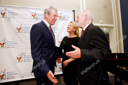 Terry Lundgren, Tina Lundgren, Shelly Friedman. Macy's chief executive Terry Lundgren, left, and his wife, Chair of the Board of Ronald McDonald House New York Tina Lundgren, converse with board member Shelly Friedman during the facility's grand re-opening, in New York