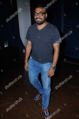 Stock Photo of Bollywood Filmmaker Anurag Kashyap during a press conference of MAMI at J W Marriott