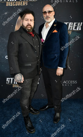 Stock Picture of Neville Page and Glenn Hetrick